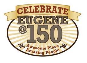 Eugene @ 150 Logo
